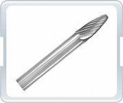 Solid Carbide Bur BF-1